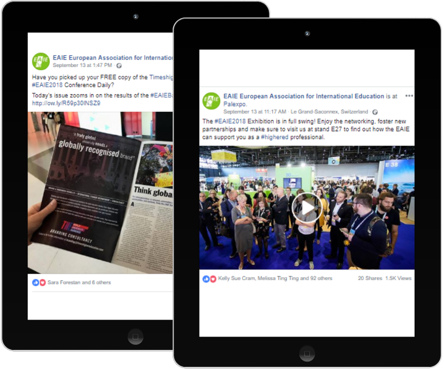 EAIE Conference Facebook